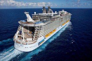 Die Allure of the Seas verkehrt in diesem Jahr im Mittelmeer (Bild Royal Carribean
