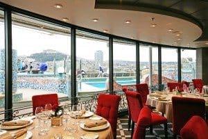 L'Etoile - Yacht Club Restaurant auf der MSC Fantasia (Bild MSC Kreuzfahrten)