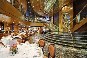 Restaurant La Reggia auf der MSC Splendida (Bild MSC Kreuzfahrten)