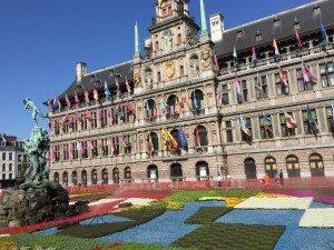 Maastrichts Rathaus wurde 1659-64 gebaut (Bild Stieger)