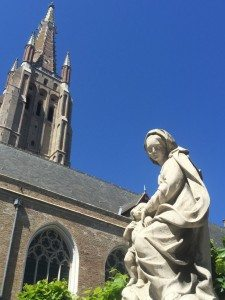 Brügge - wichtige Kulturstadt in Belgien (Bild Stieger)