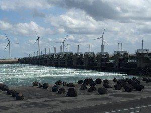 Ein wahres Weltwunder: Die Delta-Werke schützen vor Wasser-Fluten (Bild Stieger)