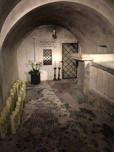 Grabkammer des heiligen St. Servatius (Bild Stieger)