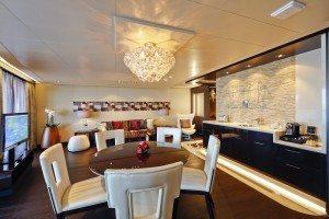 Deluxe Owner Suite auf der Norwegian Escape