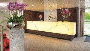 Reception auf der Amadeus Silver II (Bild Lüftner Cruises)