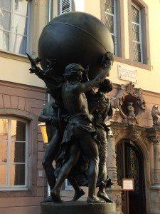 Bartholdi, dem ein eigenes Museum in Colmar gewidmet ist, erschuf die New Yorker Freiheits Statue