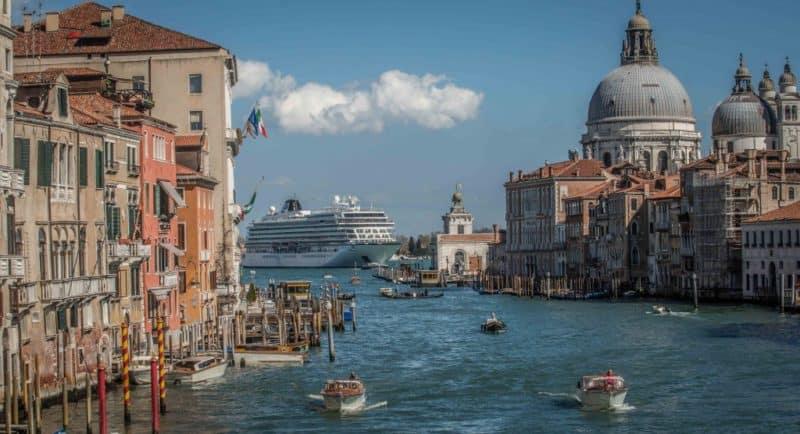 Venedig will Kreuzfahrtschiffe in der Lagune loswerden