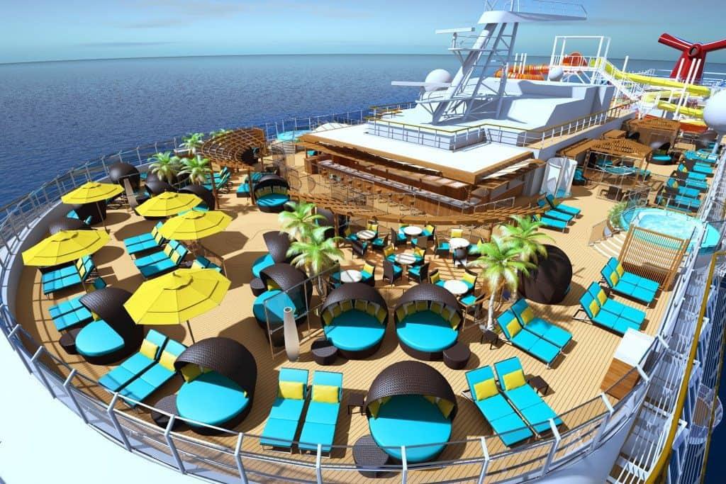Carnival Vista Eines Von Zehn Neuen Kreuzfahrtschiffen