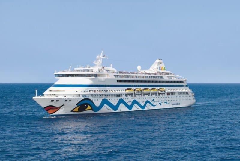 AIDA startet zur 2. Weltreise – In 117 Tagen, 41 Häfen in 20 Ländern erleben