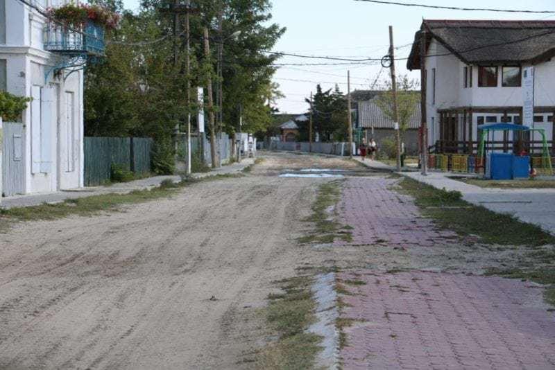Sfantu Gheorghe im Donau Delta mit knapp 1'000 Einwohnern und einer Arbeitslosenquote von über 30 %.