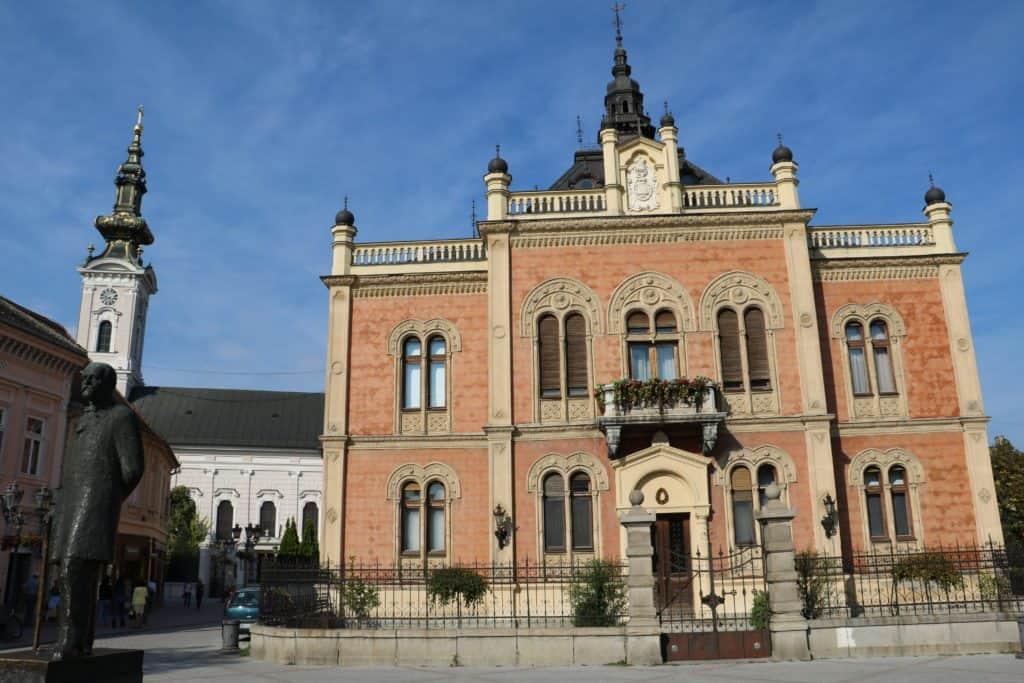 Wunderschönes Gebäude in Novi Sad
