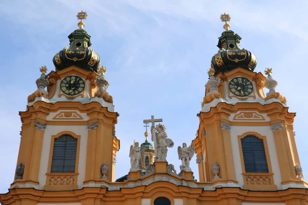 Die Kirche im Stift Melk ist eine der schönsten heiligen Stätten die ich je gesehen habe (Bild Stieger)