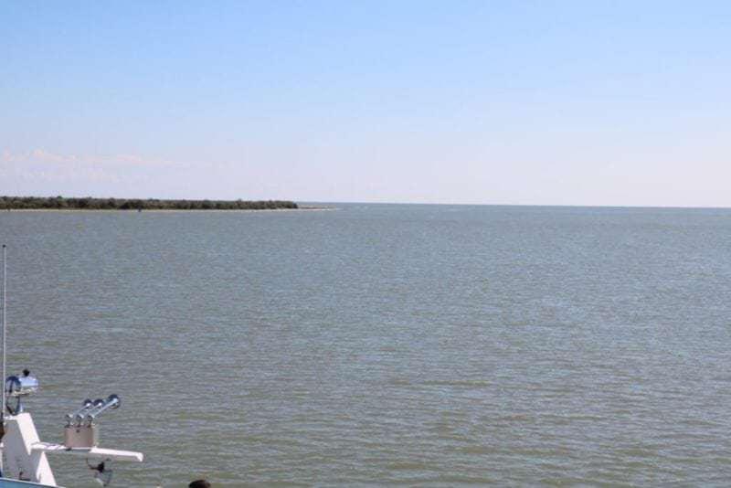 Ankunft im Donau Delta an Punkt 0