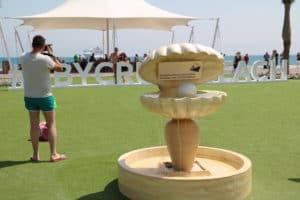 Sir Bani Yas - beliebter Kreuzfahrt Hot Spot in den Vereinigten Arabischen Emiraten (Bild Stieger)