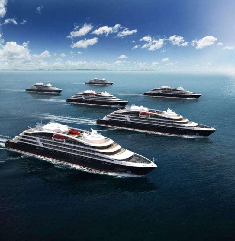 Ponant auf Expansionskurs mit sechs Luxusexpeditionsschiffen