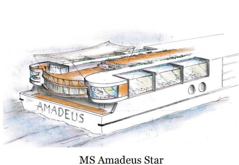 Lüftner Cruises erweitert 2019 mit der Amadeus Star die Flotte