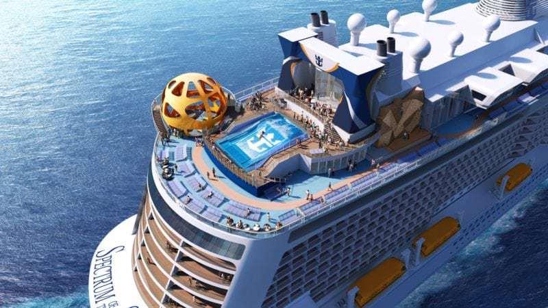 Spectrum of the Seas wird im Frühjahr 2019 ausgeliefert und startet in China