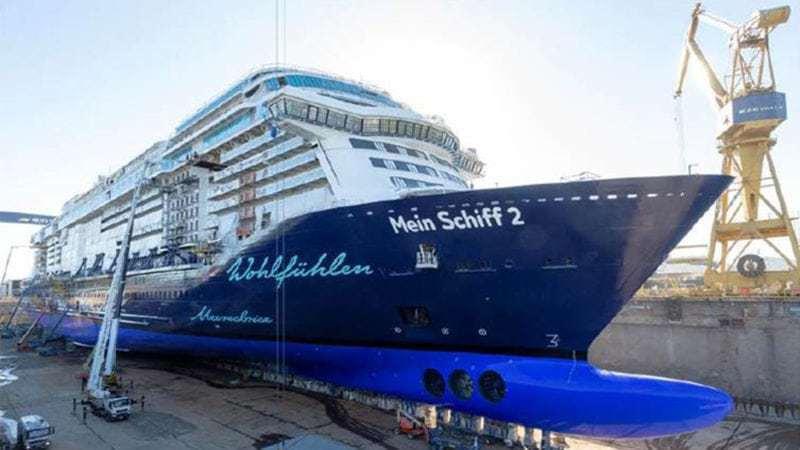 Neue Mein Schiff 2 startet früher – Taufreise bald buchbar