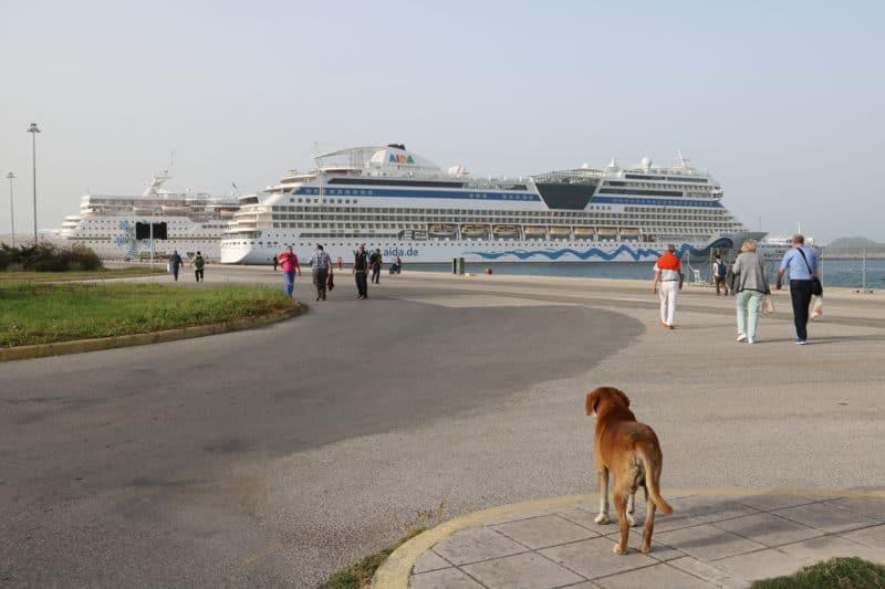 2023 reist mehr als die Hälfe der AIDA-Gäste mit LNG Schiffen
