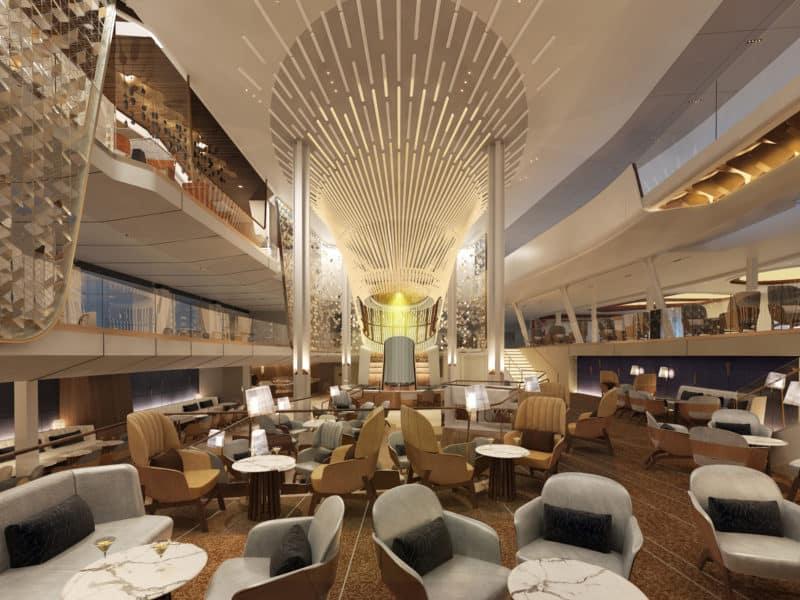 Celebrity Cruises enthüllt Herzstück der Celebrity Edge