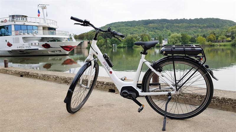 Kultur und Natur entlang der Seine mit dem E-Bike entdecken