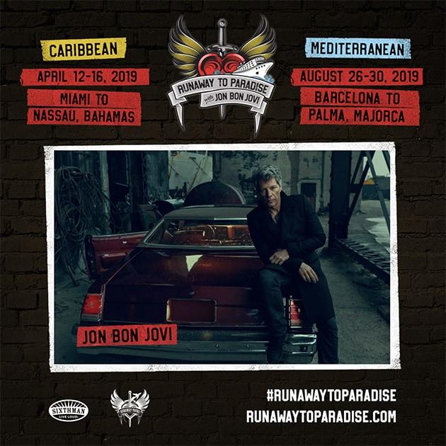 John Bon Jovi rockt auf der Norwegian Jade und Norwegian Pearl