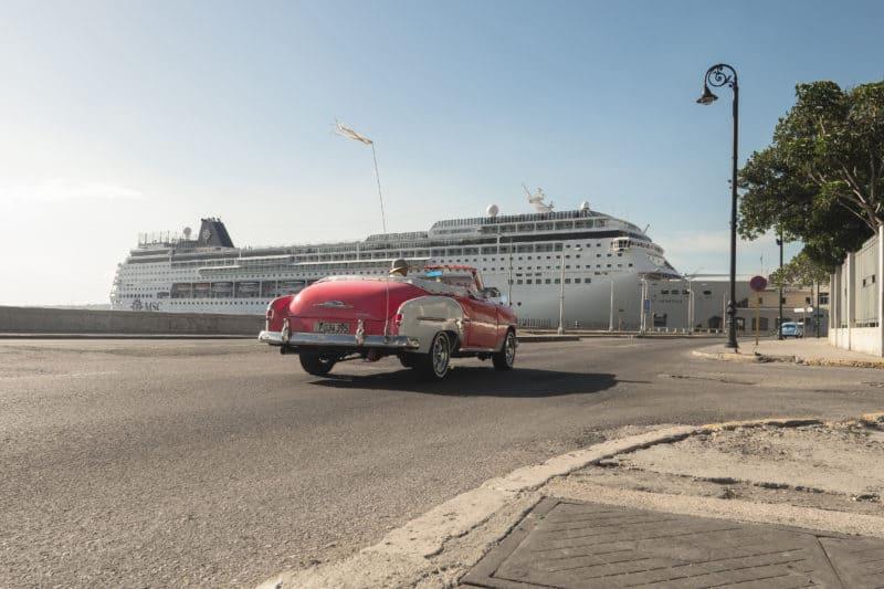 MSC Armonia sticht erstmals ab Miami Richtung Kuba in See