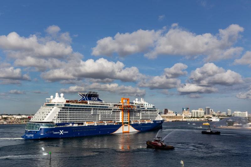 Celebrity Cruises feiert die Ankunft der Celebrity Edge