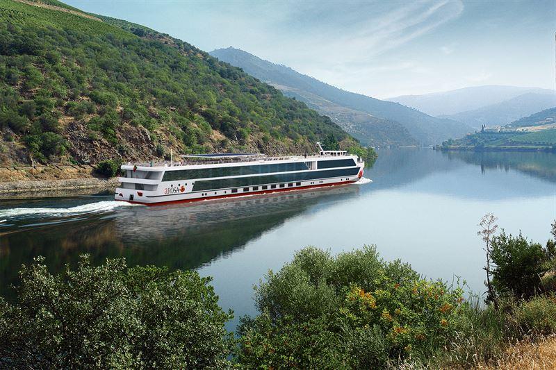 Neues Douro-Flussschiff heisst A-Rosa Alva