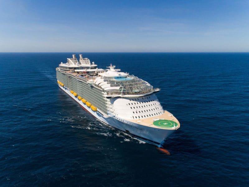 Royal Caribbean Bestellt Grösstes Kreuzfahrtschiff Der Welt
