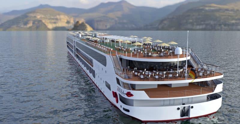 Im Frühling 2021 startet das neue A-Rosa Flussschiff zur ersten Reise