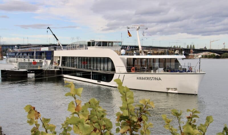 Ama Kristina, Luxus Flusskreuzfahrtschiff der amerikanischen Reederei Ama Waterways (Bild Stieger)