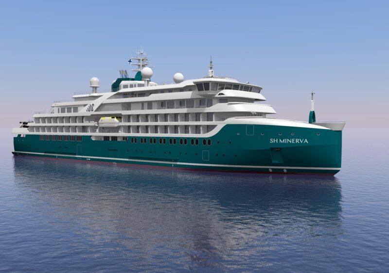 Swan Hellenic startet in 2021 und 2022 mit drei neuen Expeditions- Kreuzfahrtschiffen (Foto Swan Hellenic)