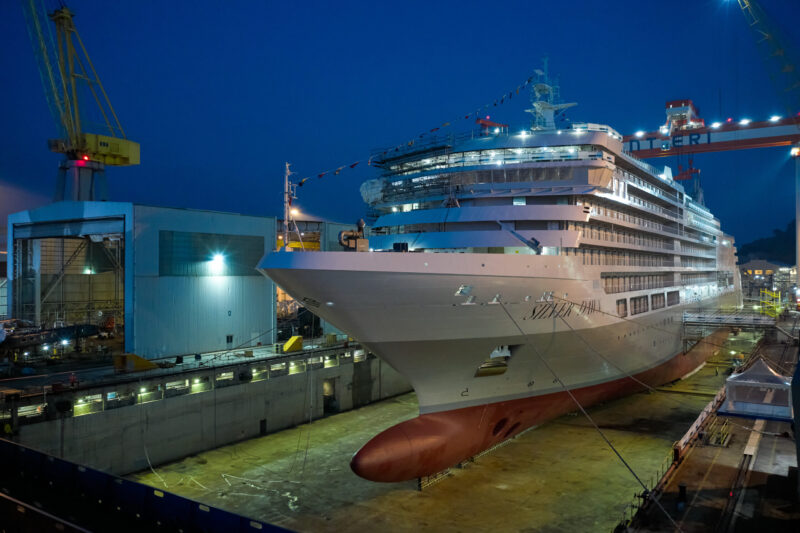 Die Silver Dawn wird nur 596 Gäste in 298 Suiten mit Meerblick beherbergen (Foto Silversea Cruises)