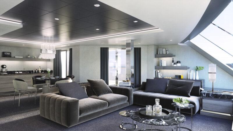Ein Traum: Owner's Suite im MSC Yacht Club der MSC Seashore (Foto MSC Cruises)