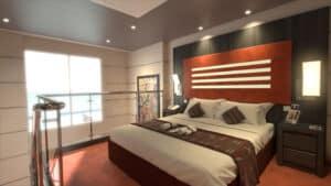 MSC Yacht Club Duplex Suite auf der MSC Virtuosa (Bilder MSC Cruises)
