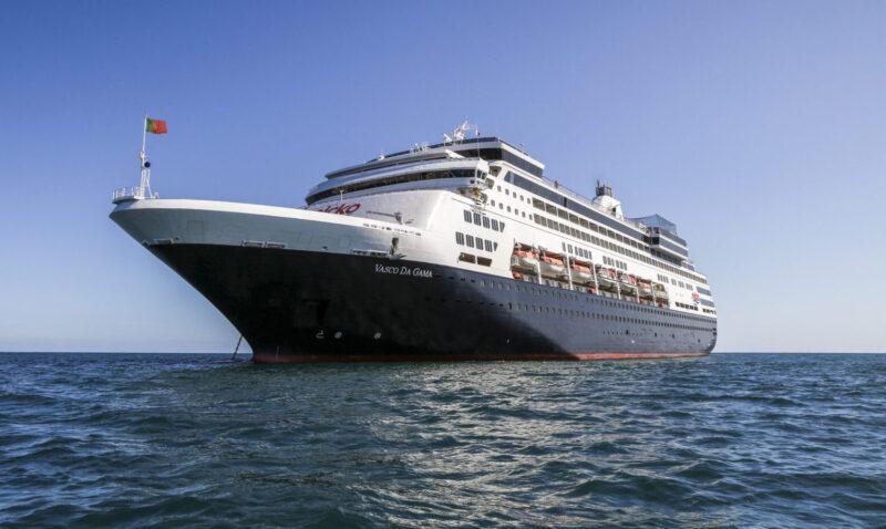 Die Vasco da Gama bietet Platz für max. 1'000 Passagiere und lockt mit einer interessanten Routen-Vielfalt (Foto nicko cruises)